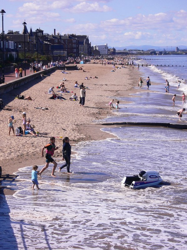 Portobello on a summer's day