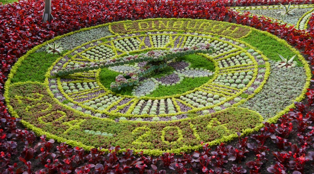 The 2014 Floral Clock