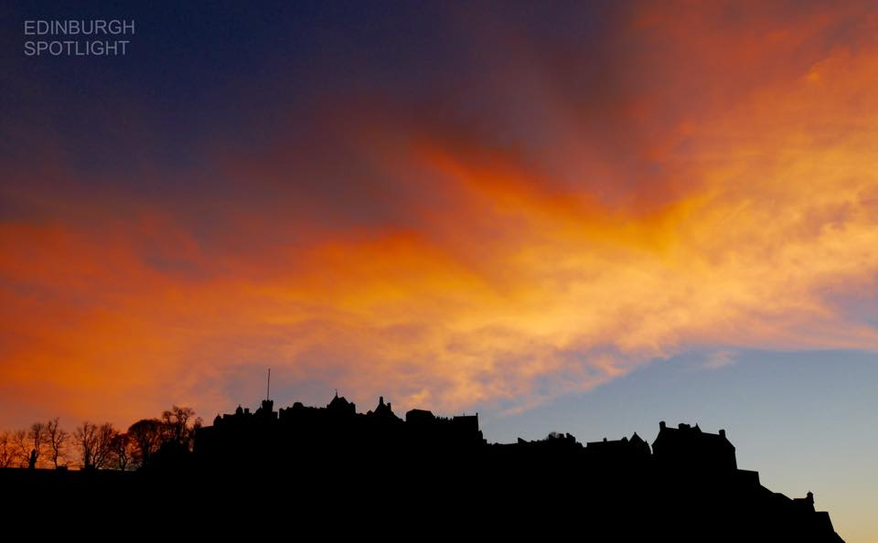 St Andrew's Day sunset