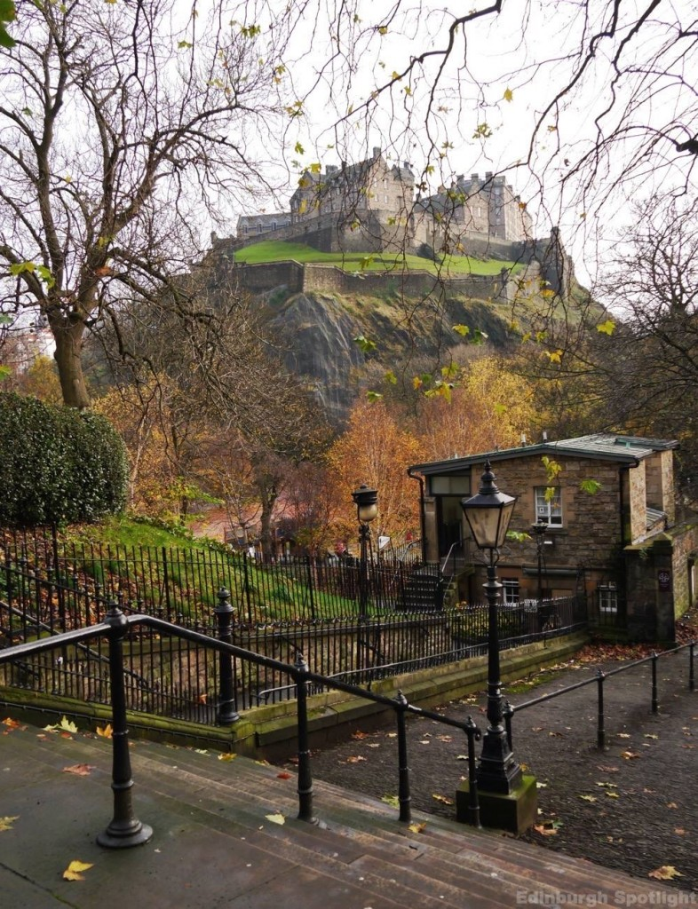 West End of Princes Street Gardens