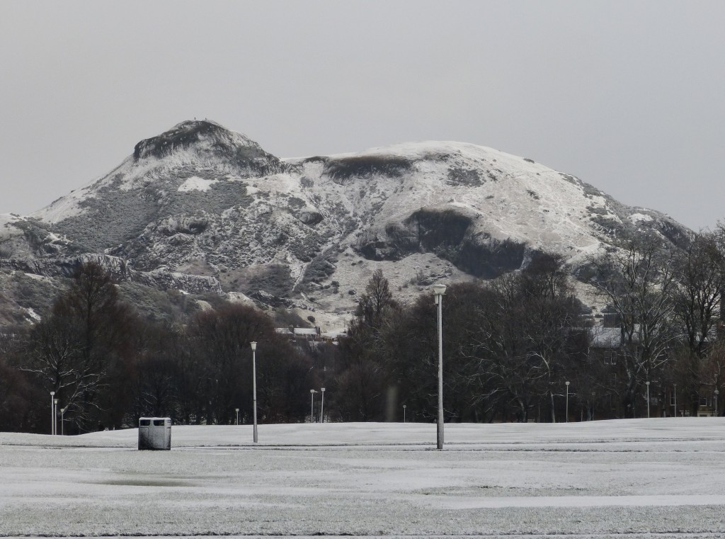 Arthur's Seat from Bruntsfield Links