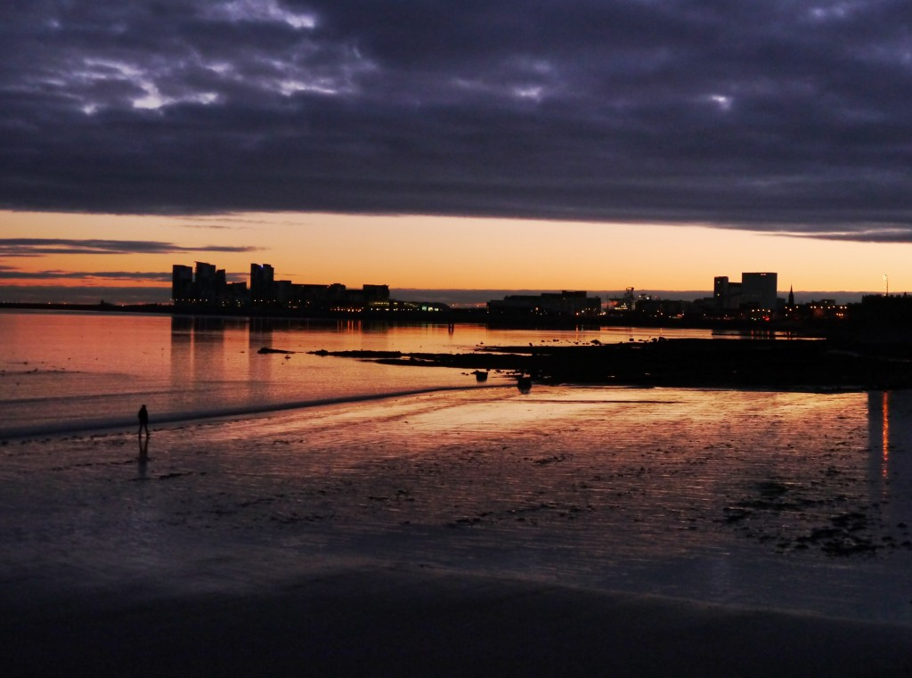 Sunrise at Granton