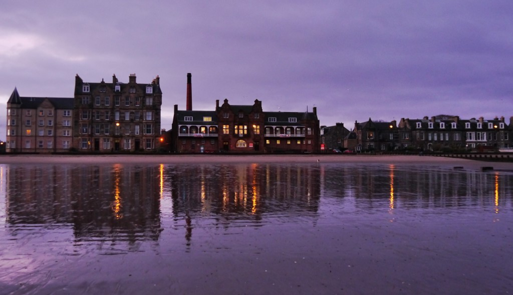 Dawn reflections, Portobello