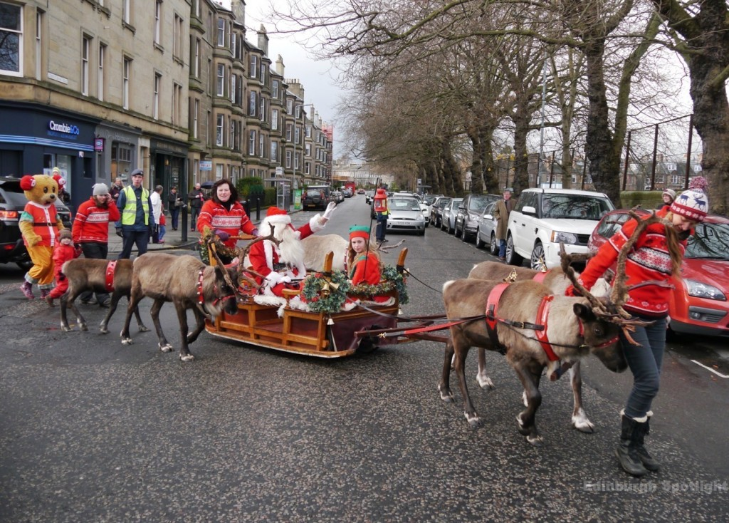 Santa Parade, Stockbridge