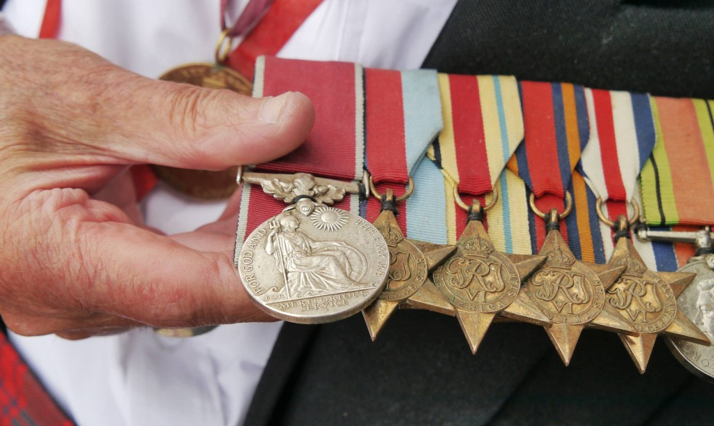 Tom's medals