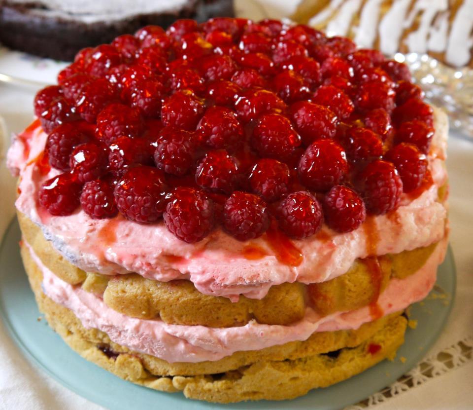 A cake by the Edinburgh Bakers