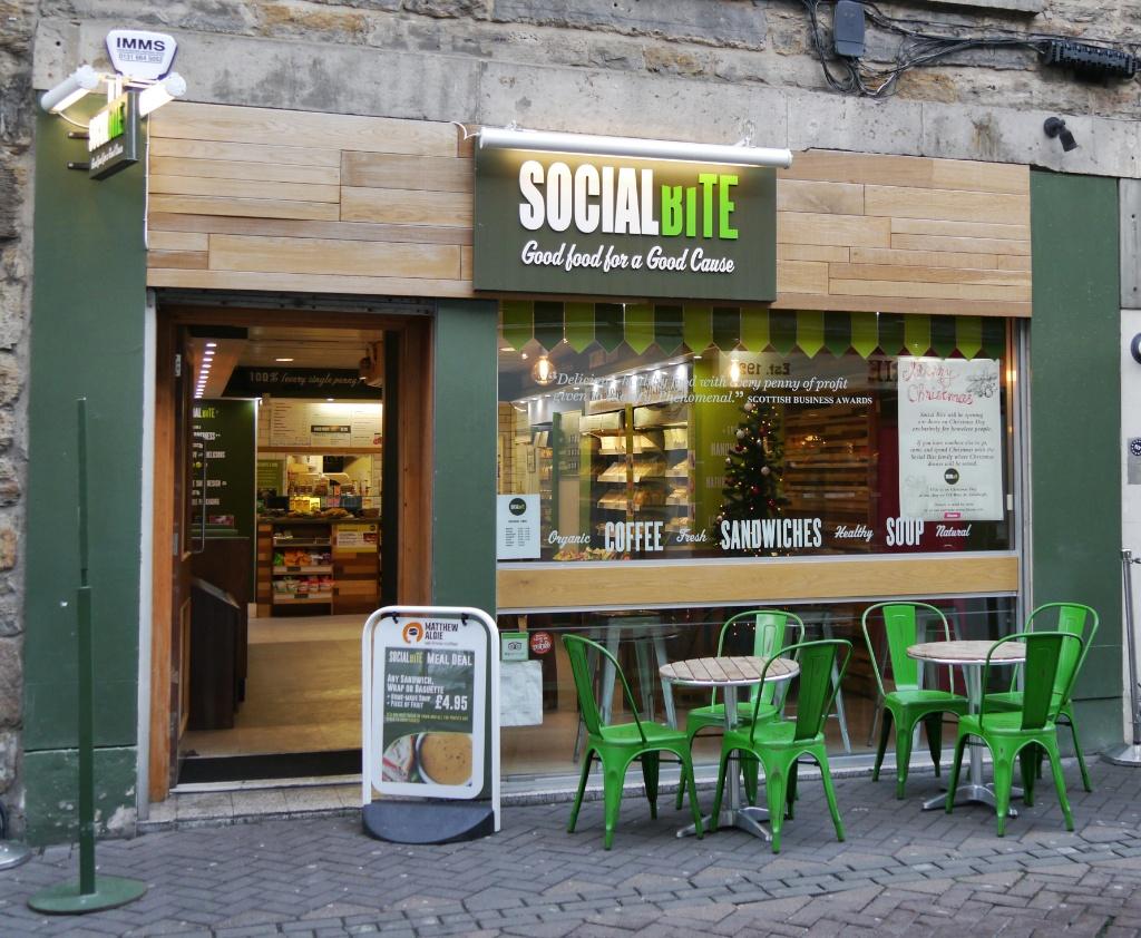 Social Bite on Rose Street