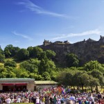 Jazz and Edinburgh Castle