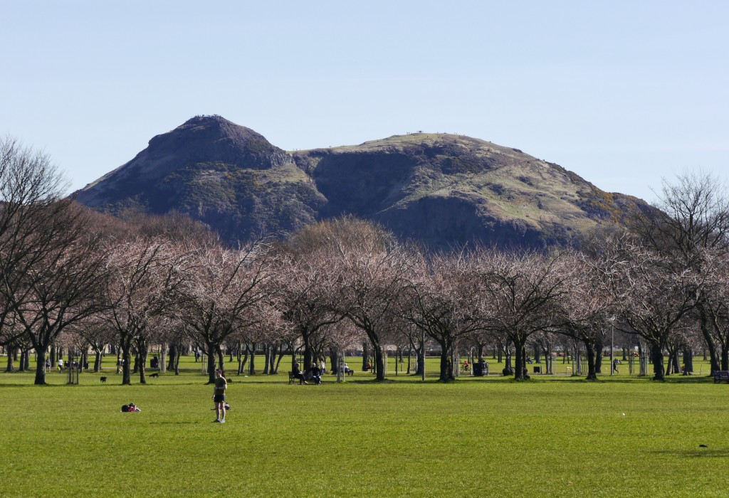 Arthur's Seat from The Meadows