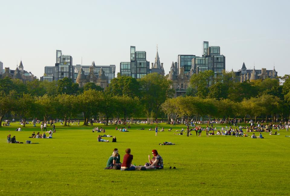 Sunny evening in The Meadows