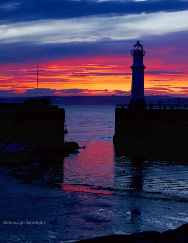 Newhaven sunset