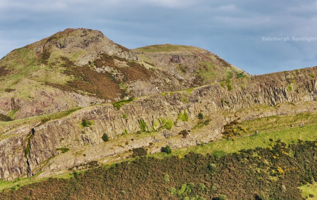 Arthur's Seat and Salisbury Crags