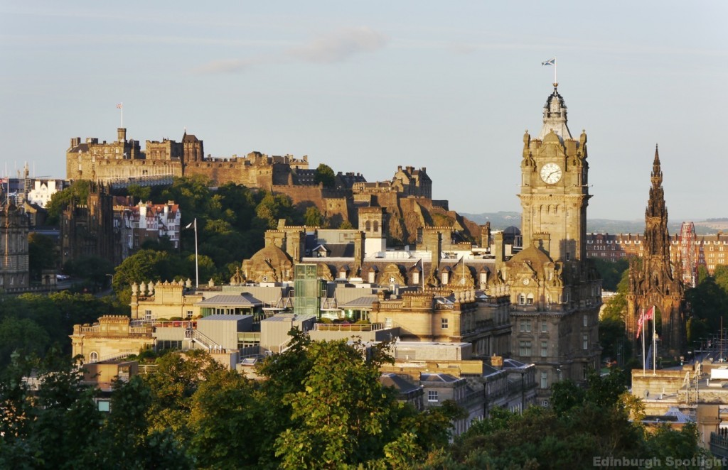 Classic view from Calton Hill