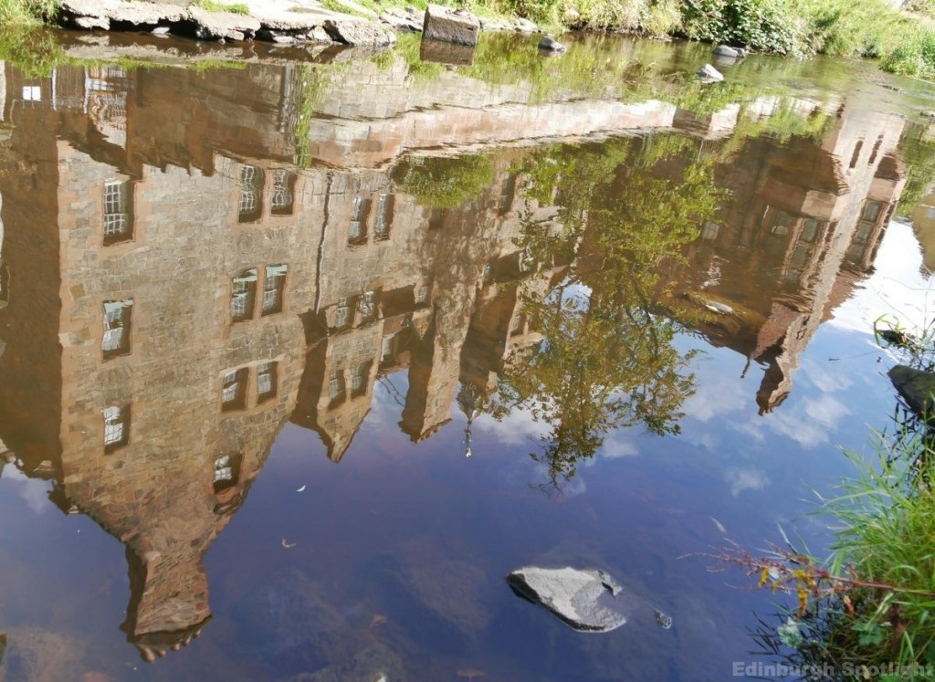 Reflections in the Water of Leith
