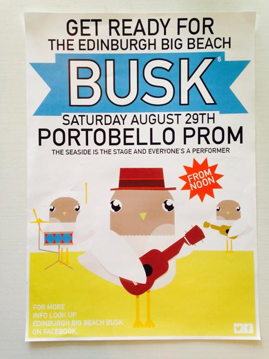 The sixth Portobello Beach Busk