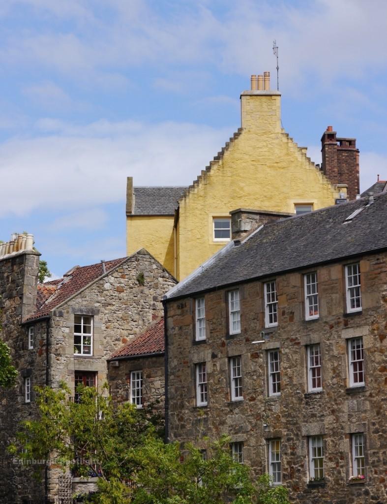 Beautiful buildings in Dean Village