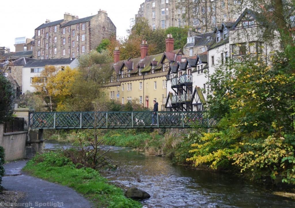 Dean Village in the autumn