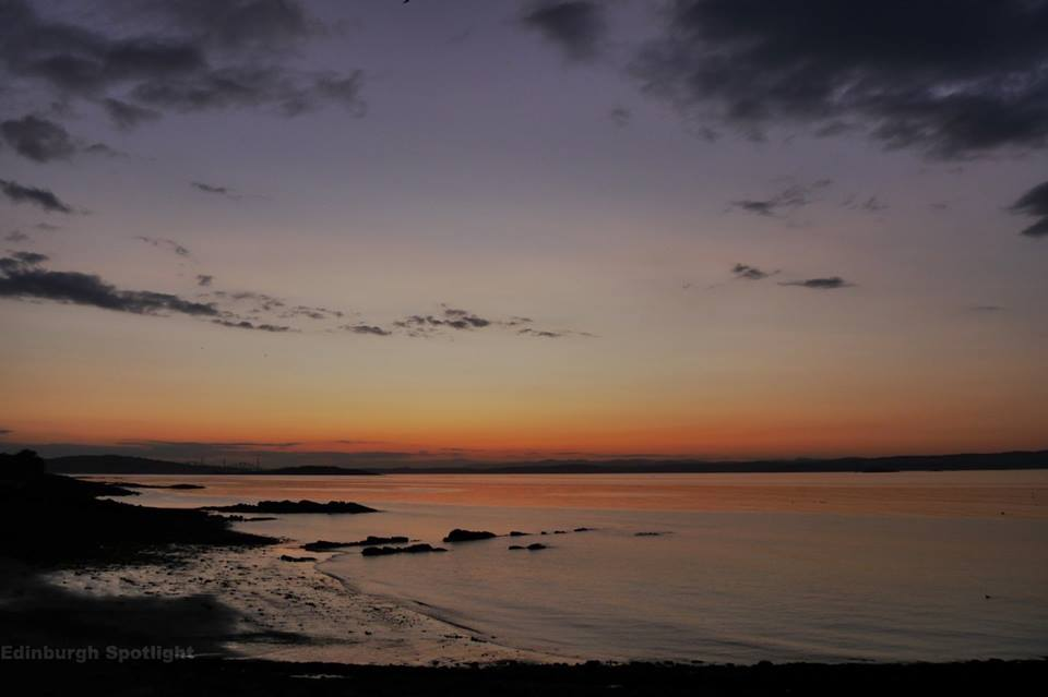 Sunday 16th August, dusk at Granton
