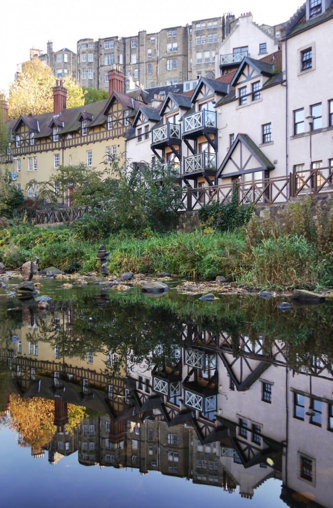 Reflections of Dean Village