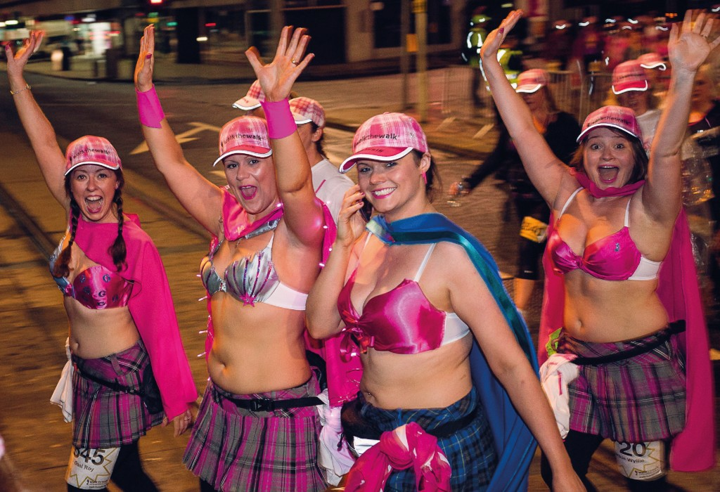 Moonwalk Scotland, 11th June 2016
