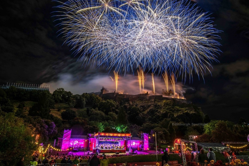 Edinburgh International Fireworks 2015