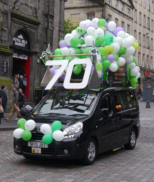 The Edinburgh Taxi Outing 2016