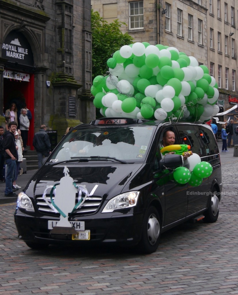 The Edinburgh Taxi Outing 2016