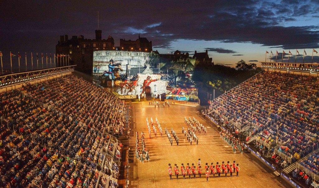 Massed Military Bands by Dave Stewart