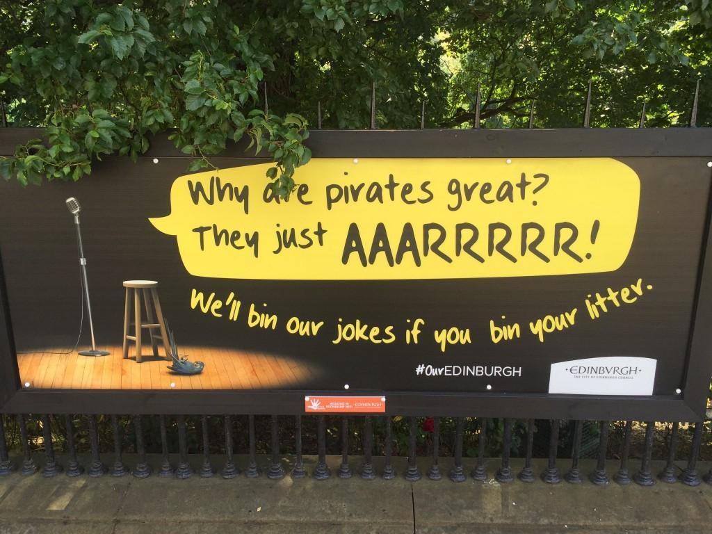 #OurEdinburgh campaign. Credit: Edinburgh Council