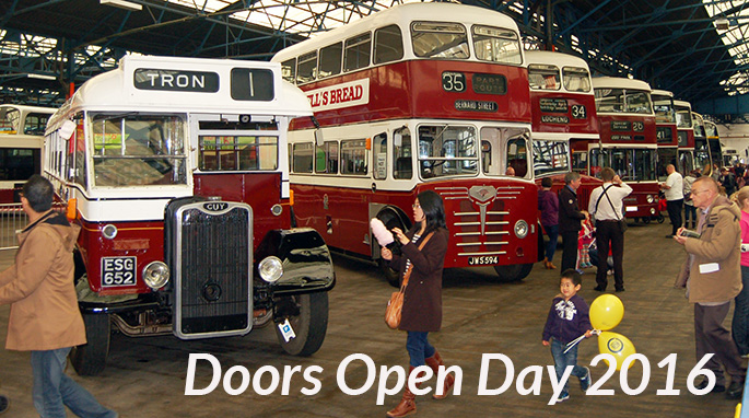Lothian Buses Central Depot will be open