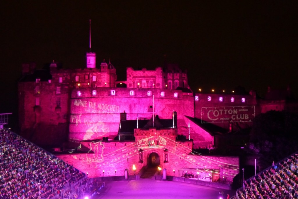 A pink Castle for the United States Army Europe Band and Chorus