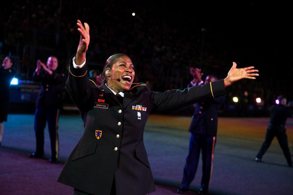 US Military singer