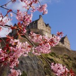 Edinburgh in the spring