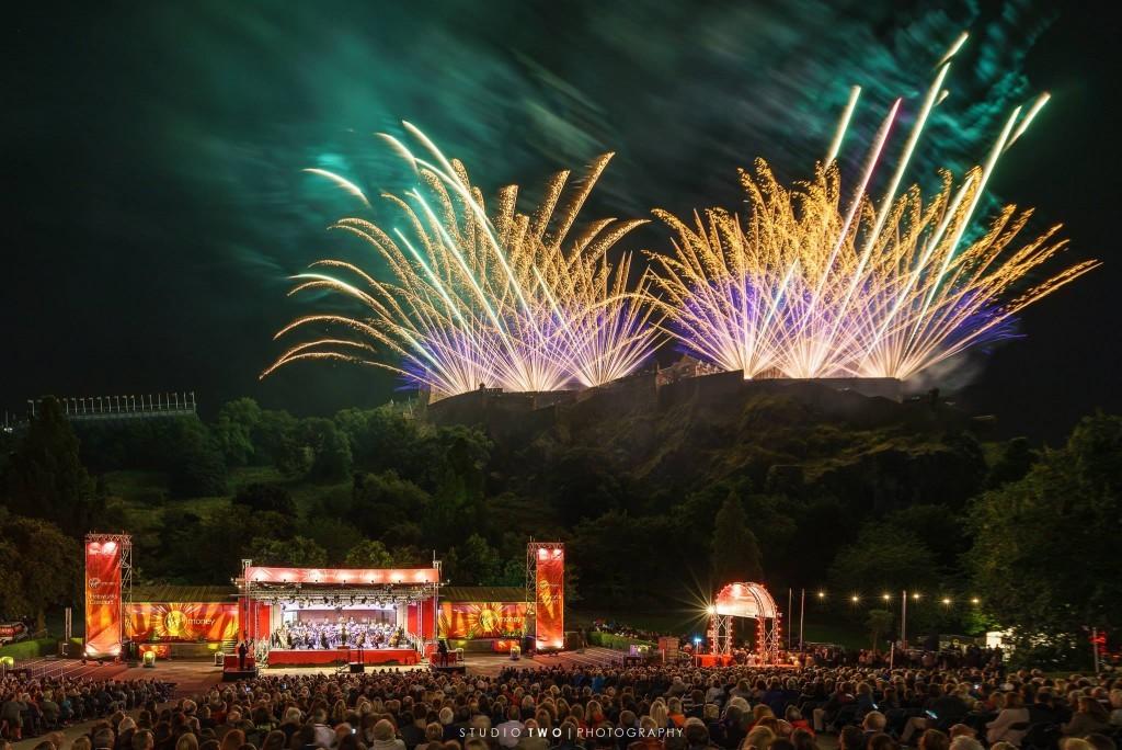Festival Fireworks 2016, by Dave Stewart.