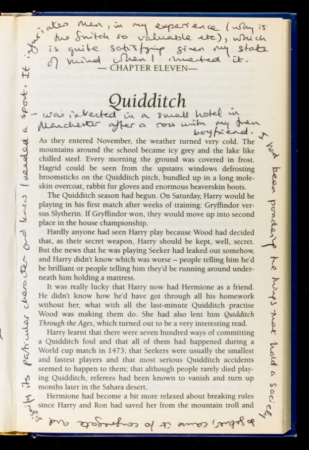 Thoughts on Quidditch