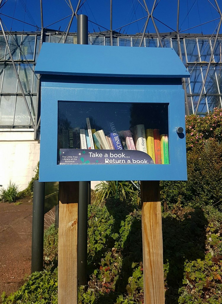 Little Free Library in The Botanics.