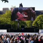 Free outdoor films in St Andrew Square