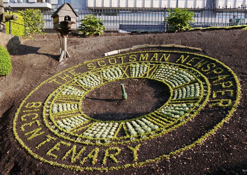 The Floral Clock on 26th May