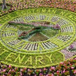 The 2017 Floral Clock