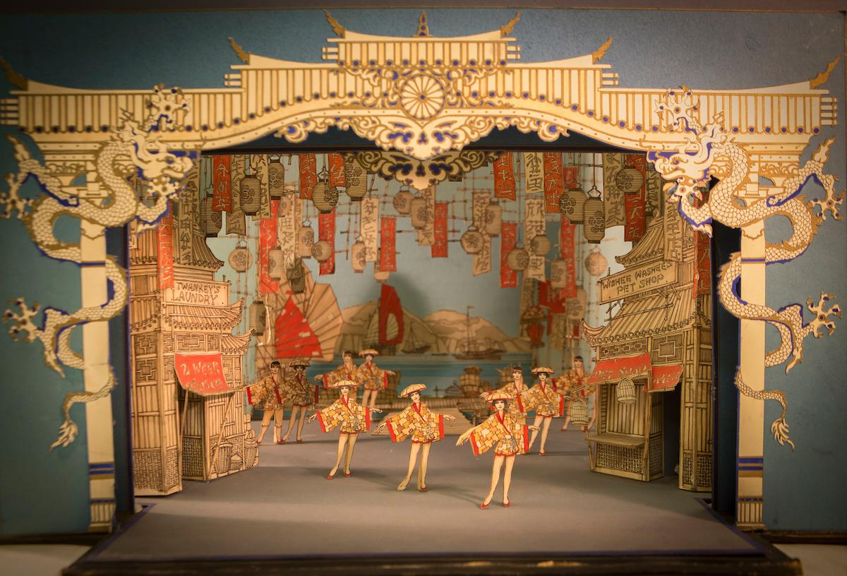 Pantomime set from King's Theatre.