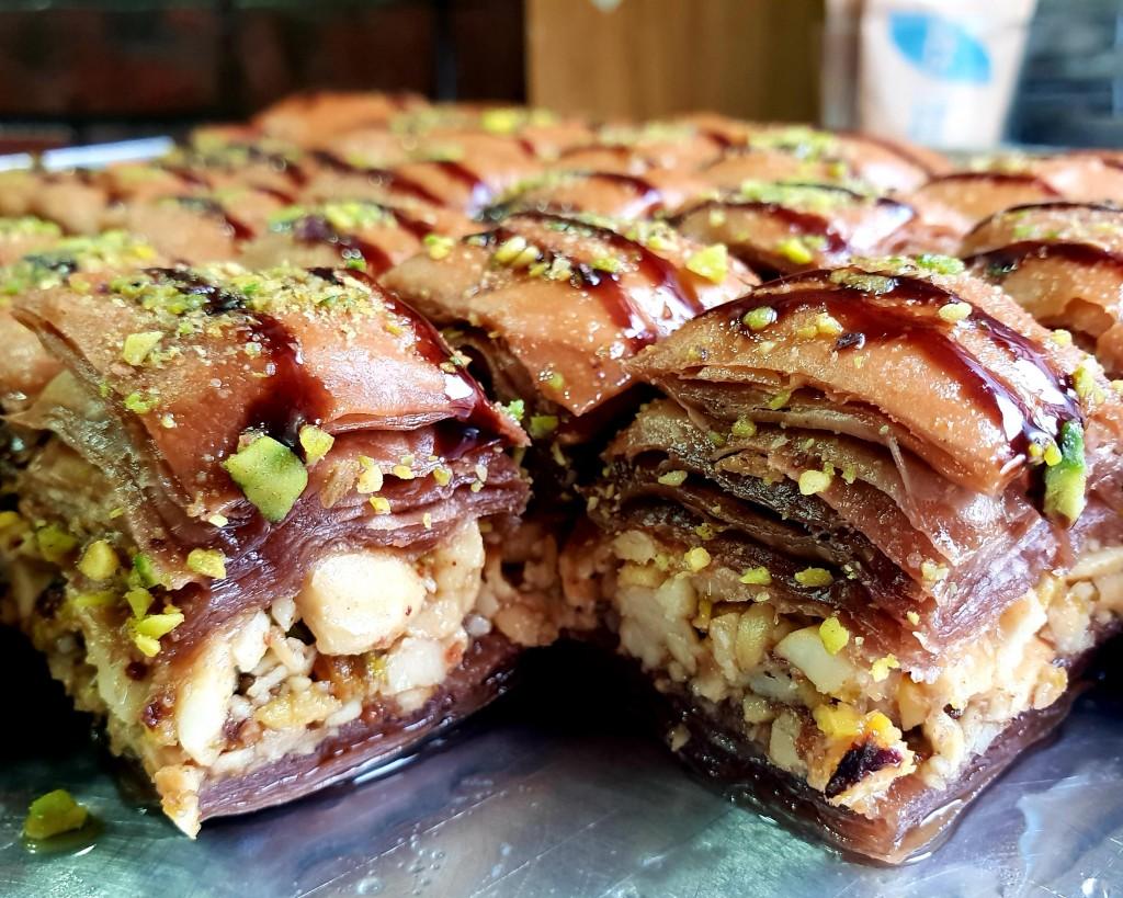 Chocolate baklava anyone?