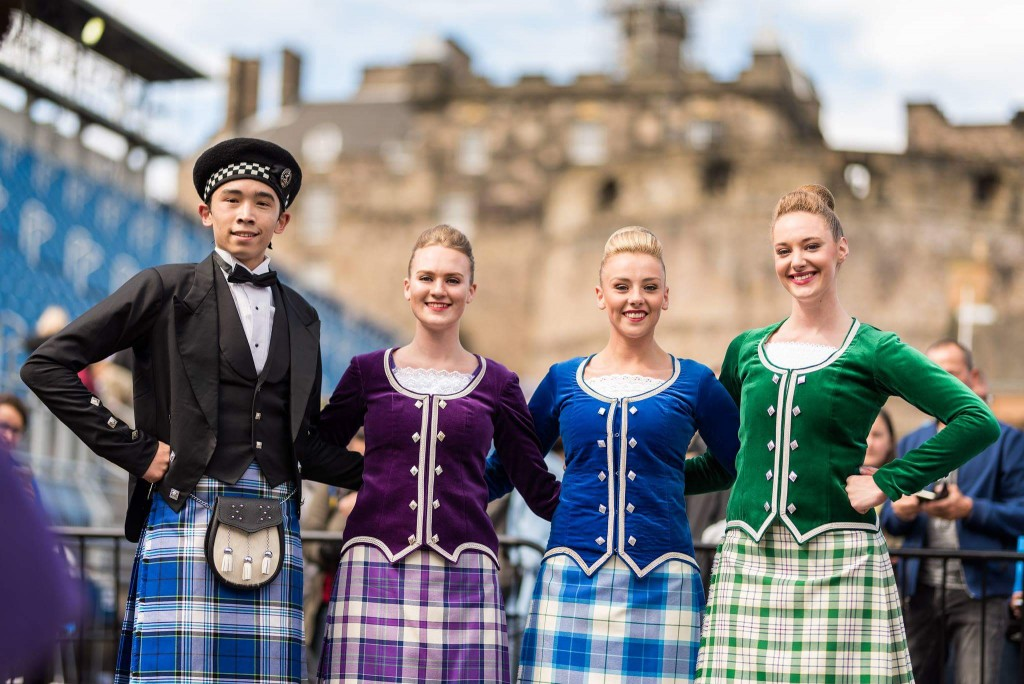 Highland Dancers from The Royal Edinburgh Military Tattoo 2017