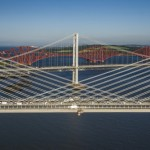 The Forth Bridges from the air