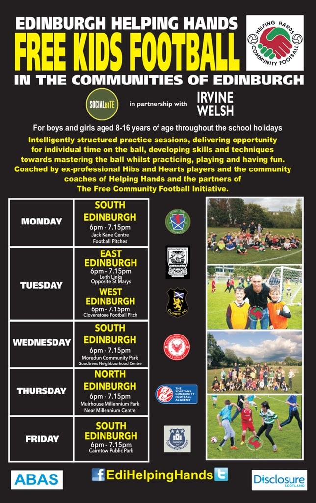 Free football sessions