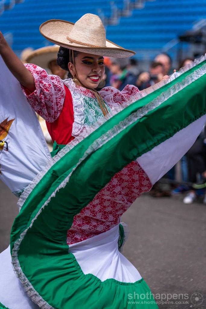 Mexico comes to the Castle Epslanade