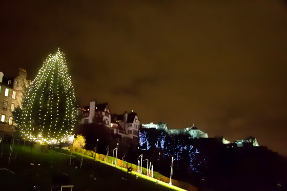 The Norwegian Christmas Tree on The Mound
